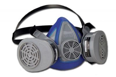 Mascara Respirador Advantage 200 MSA Com Cartucho Químico GMC Baioneta