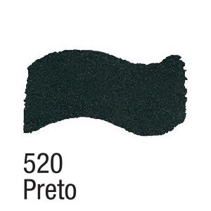 Tinta Acrílica Preto Metálico (60ml)