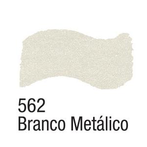Tinta Acrílica Branco Metálico (60ml)