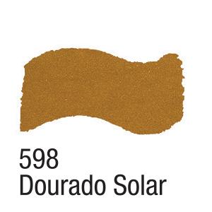 Tinta Acrílica Dourado Solar Metálico (60ml)