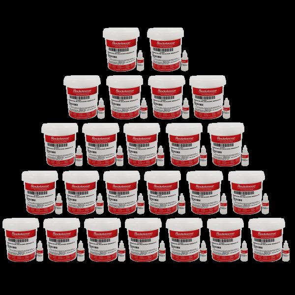 Borracha De Silicone Branca Alta Flexibilidade para Moldes Com Catalisador (24,720 Kg)