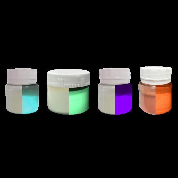 Kit: TODOS os Pigmentos Fosforescentes