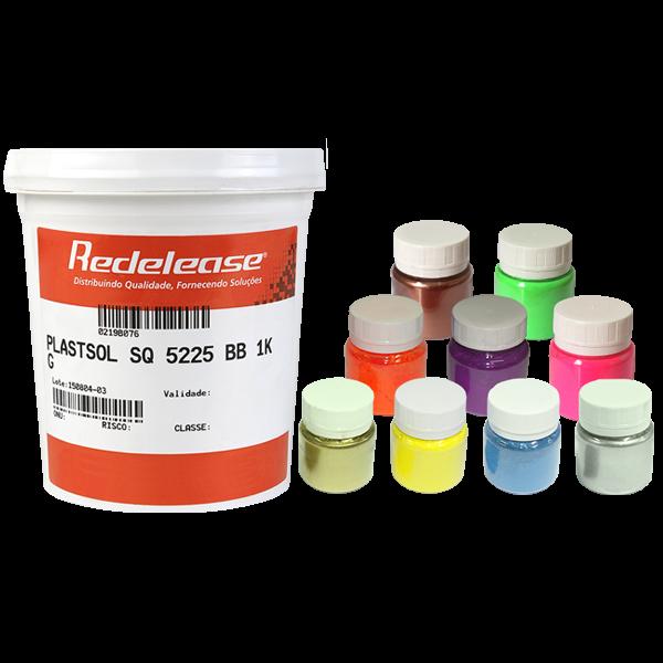 Kit: Plastisol SQ 5225 + Todos Pigmentos Fluorescentes