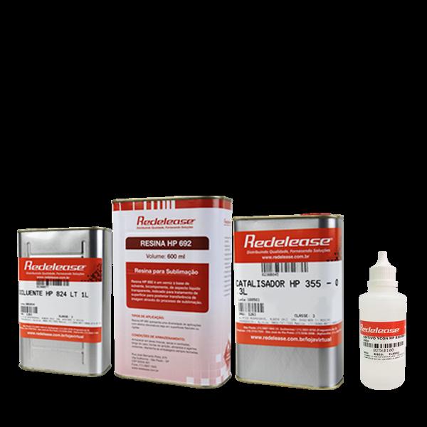 Kit: Resina de Sublimação HP 692 + Aditivo Para Vidro