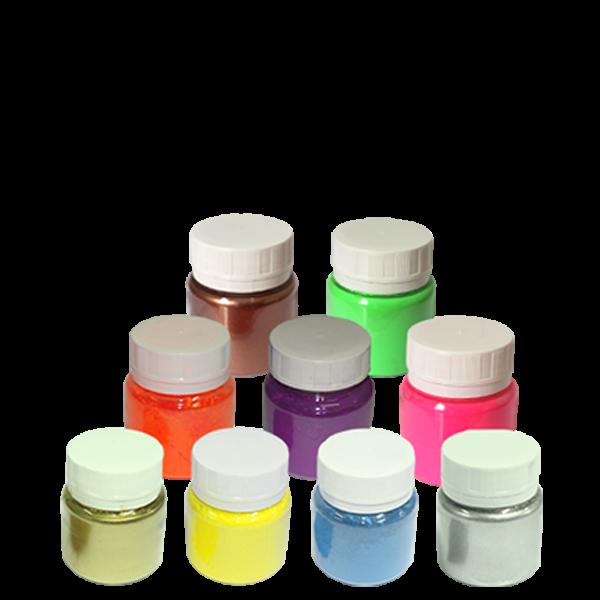 Kit: TODOS os Pigmentos Fluorescentes