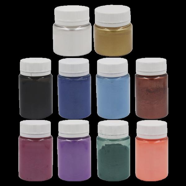 Kit Todos os Pigmentos Perolados
