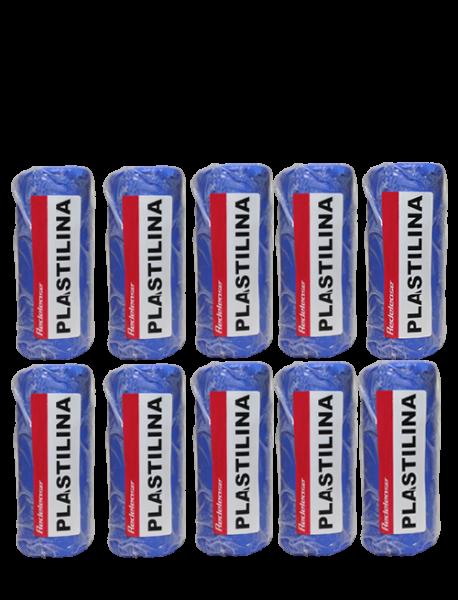 Massa De Modelar Plastilina Azul 5 Kg (10 Un)