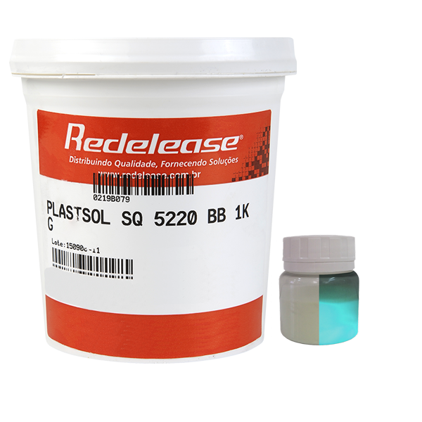 Kit Plastisol SQ 5220 + Pigmento Redelux Para Fabricação De Isca Glow