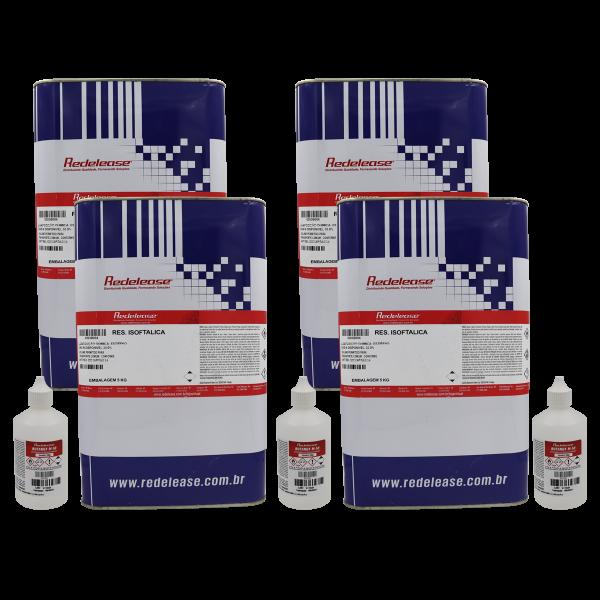 Resina Isoftalica com catalisador (Lata ou Bombonas) [20,3 Kg]