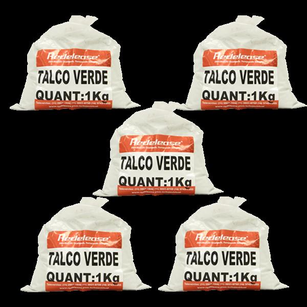 Talco Industrial Verde (Carga Mineral) [05 Kg]