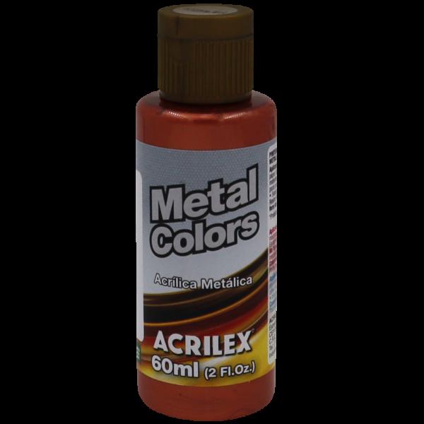 Tinta Acrílica Cobre Metálico (60ml)