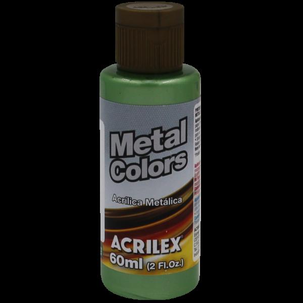 Tinta Acrílica Verde Musgo Metálico (60ml)