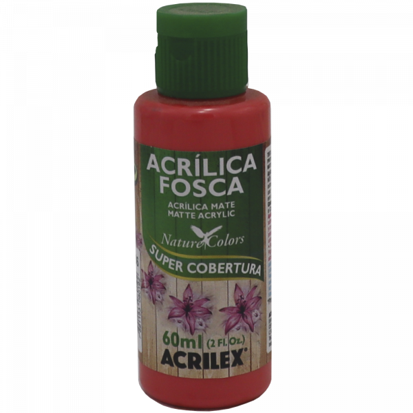 Tinta Acrílica Coral Acrilex (60ml)