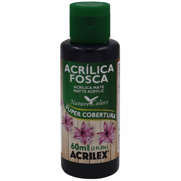 Tinta Acrílica Preto Acrilex (60ml)