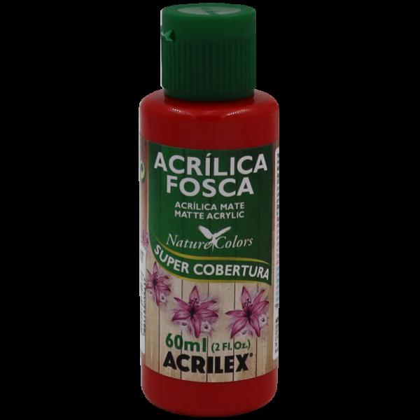 Tinta Acrílica Vermelho Fogo Acrilex (60ml)