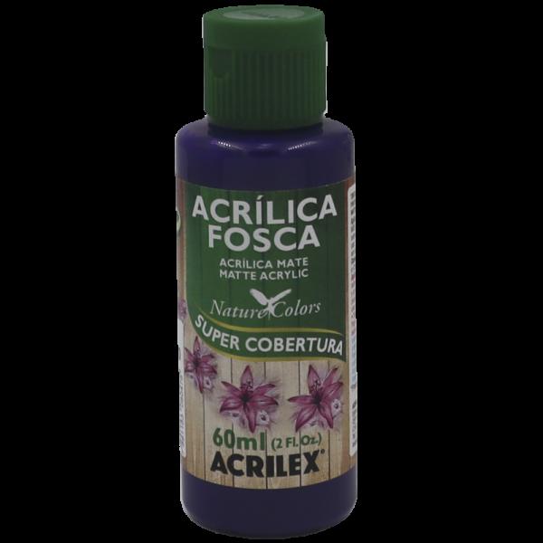 Tinta Acrílica Violeta Cobalto Fosca Acrilex (60 ml)