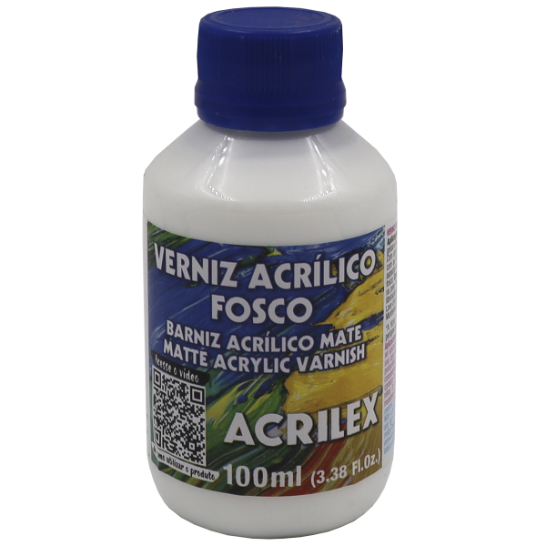 Verniz Acrílico Fosco Acrilex 100 ml