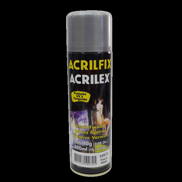 Verniz Spray Fosco Acrilfix Acrilex (300 ml)